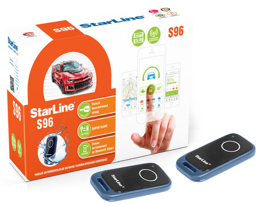 Автосигнализация StarLine S96 BT 2CAN+2LIN GSM - 18757